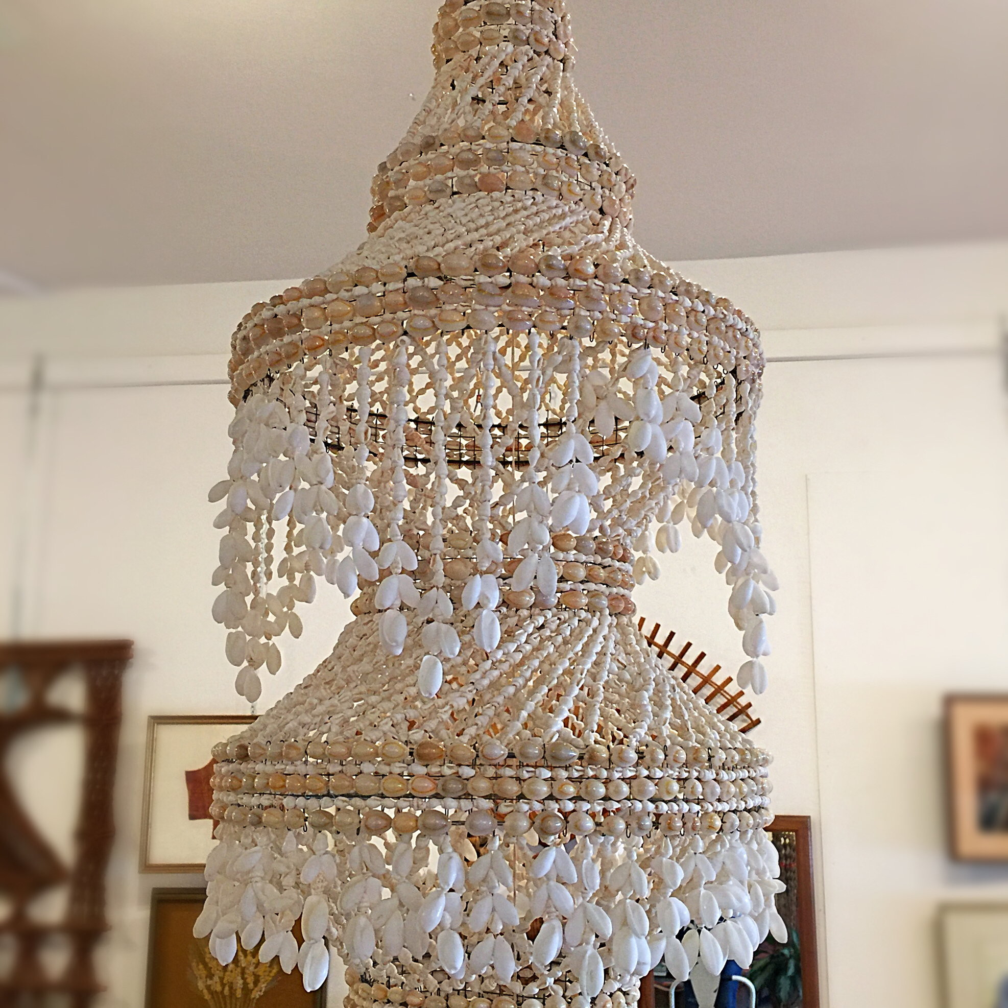bohemian round glass lovely uncategorized clear chandelier mini of trendy copper size rectangular crystal full with for