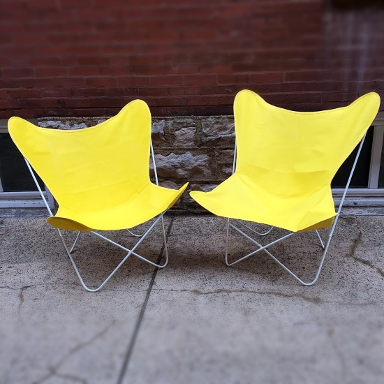 Mid Century Modern Vintage Butterfly Chairs | Mid Century Modern Vintage  Butterfly Chairs With New Old