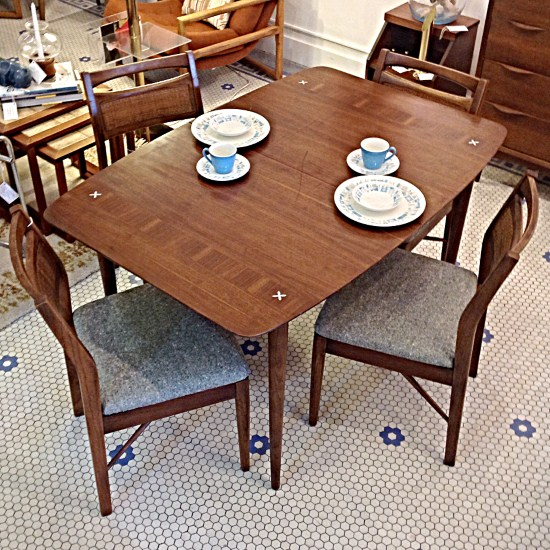 mid century american of martinsville dining set | gorgeous dining