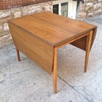 Mid Century Drexel Profile Drop Leaf Dining Set | Gorgeous Mid Century Drop  Leaf Table And