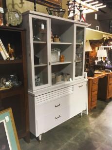Amazing 2 Piece White / Grey Cabinet   Mid Century Modern | Auburn SKU GHAJ8K |  Primary