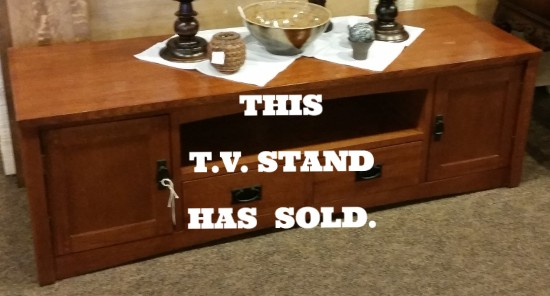 Mission Style Tv Stand Or Cabinet This Is A Medium To Dark Oak Tv