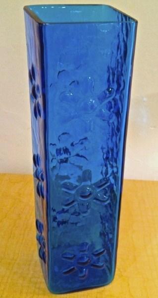 Vintage Modern Blenko Glass Vase By Wayne Husted Vintage Modern